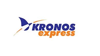 Kronos Express Courier Logo
